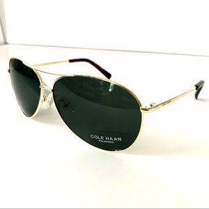 Cole Haan Aviator Sunglasses- NEW WITH TAGS